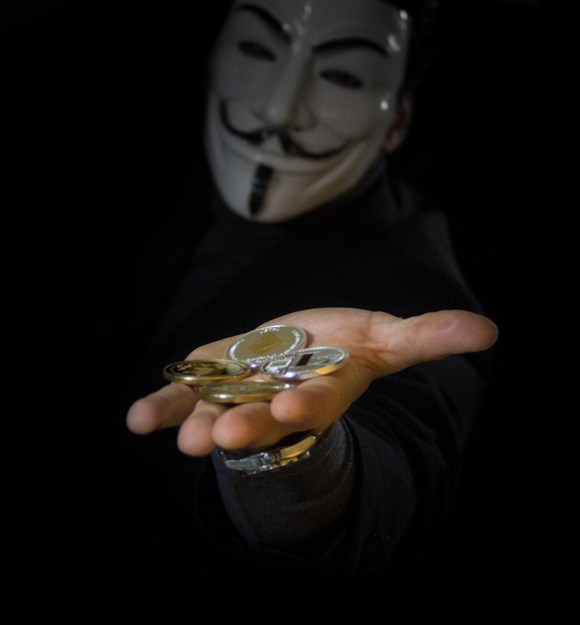 pagamento in criptovalute verso un estraneo