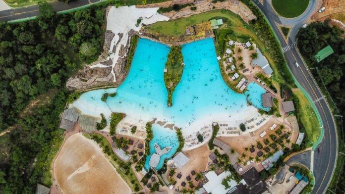 resort visto dall'alto